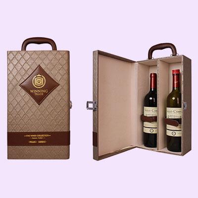 WINNING葡萄酒皮盒