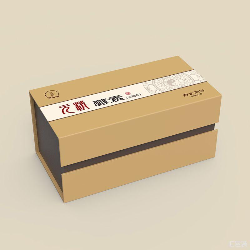 旌德黄精是博仕达旗下系列包装盒设计制作-汇包装