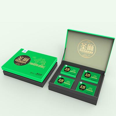 圣麻羅布麻茶系列包裝