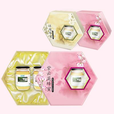 紫云英蜂蜜包装盒